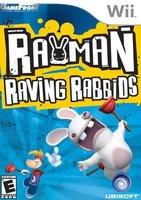 Portada de Rayman Raving Rabbids de Wii