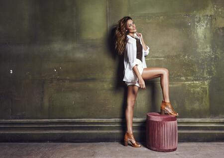 campaña de carmela shoes con lara alvarez