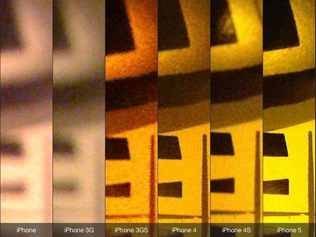 Comparativa Cámara iPhone