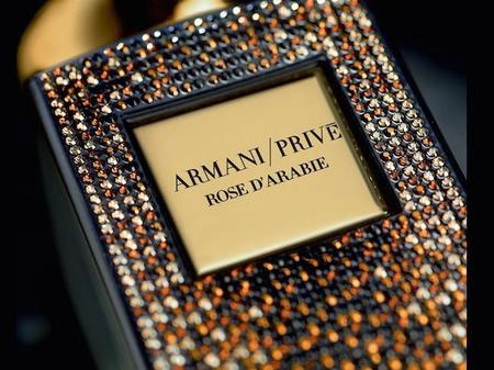 Armani Privé amplía su familia con Rose D'Arabie Éclat de Pierres