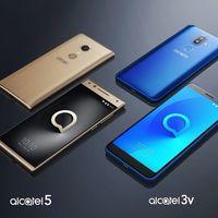 Alcatel nos da un adelanto de sus teléfonos para 2018: pantallas 18:9 y desbloqueo facial