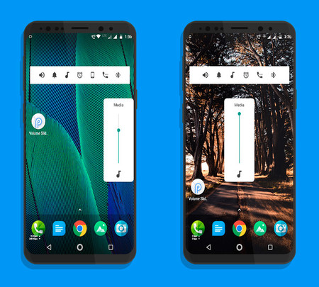 Android P volumen