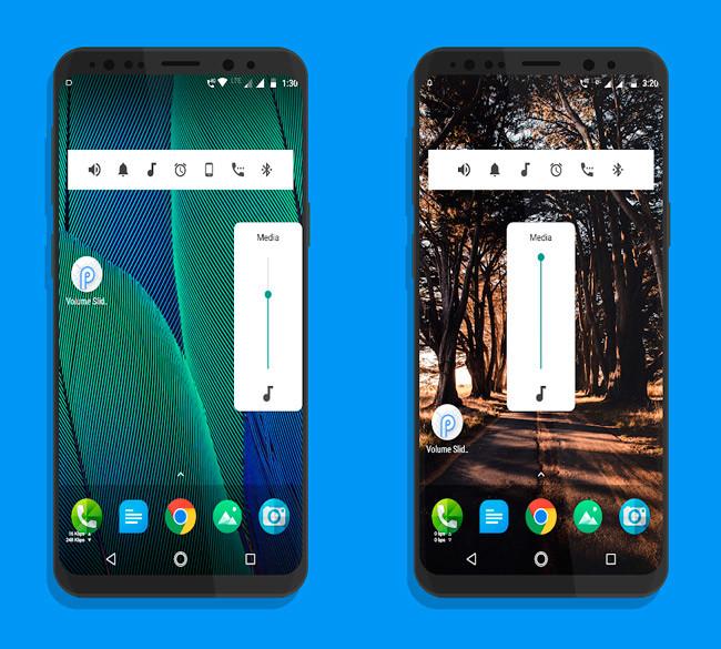 Android P volumen
