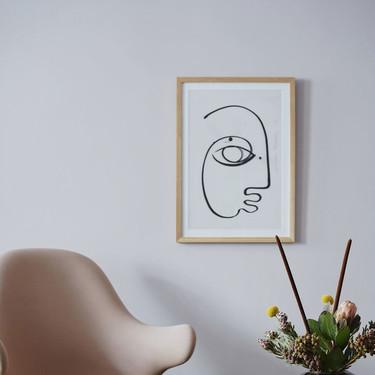 Al más puro estilo Picasso o Mattise, la última tendencia para tus paredes es colgar un retrato hecho con pocos trazos