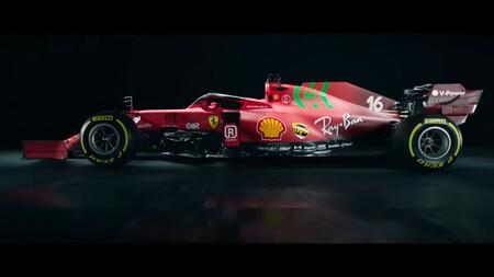 Leclerc Ferrari F1 2021 2