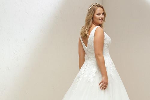 Estas son las marcas donde encontrar vestidos de novia de tallas grandes