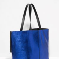 Bolso Tote Metalizado Andtheotherstories