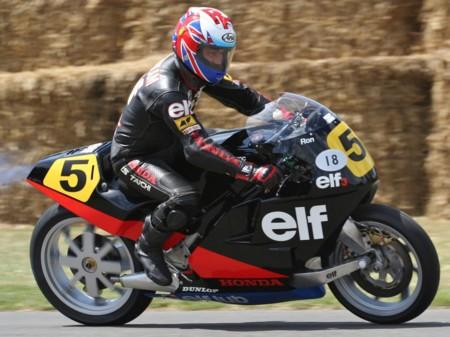 Ron Haslam Elf Honda