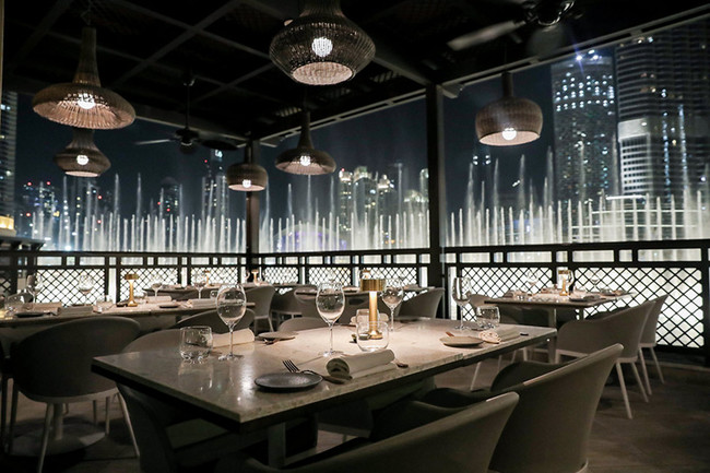 Restaurante The Atlantic Dubai 6