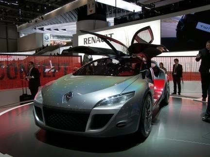 Renault Megane Coupé Concept en el Salón de Ginebra
