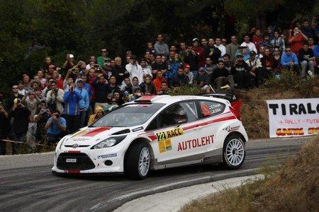 ¿Ott Tanak con un Ford Fiesta RS WRC en 2012?