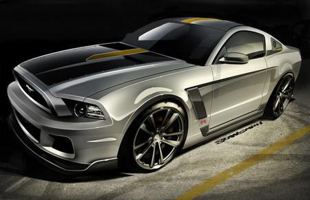 La caballería Ford Mustang toma el SEMA Show