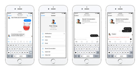 Facebook Messenger Chats Secretos