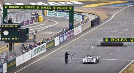 Llegada Le Mans 2011