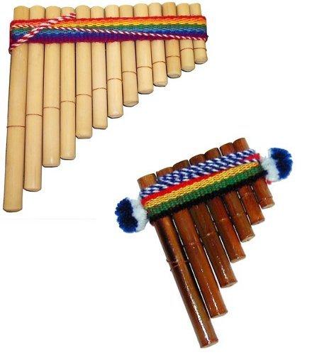 Disfraz casero para bebés: flauta de Pan
