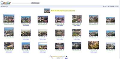 Google Similar Images, buscador de imágenes similares
