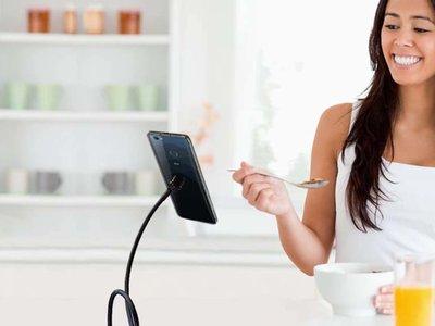 ZTE Hawkeye, el smartphone con control ocular y cuerpo adhesivo llega a Kickstarter