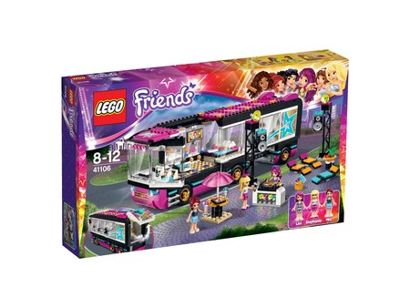 El autobús Pop star de Lego Friends está a la venta por 34,50 euros con envío gratis en Amazon
