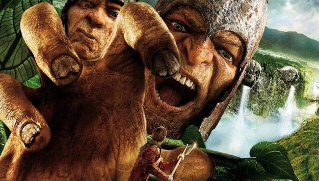 Imagen con un cartel de 'Jack el caza gigantes'