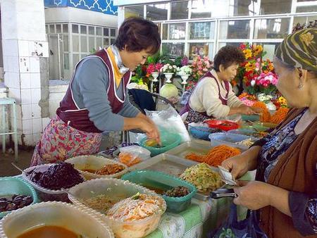 Bazar en Tashkent