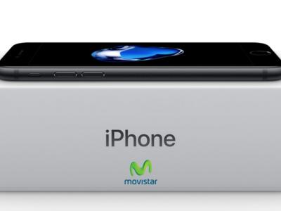 Precios iPhone 7 y iPhone 7 Plus con pago a plazos en Movistar