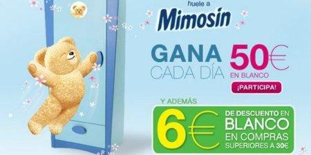 Consigue con Mimosín 6 euros de descuento en Blanco