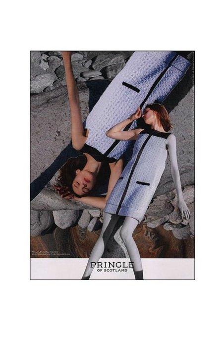 Pringle of Scotland campaña Primavera-Verano 2012: la polémica está servida