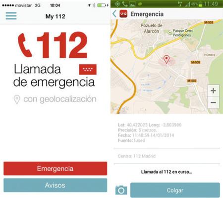 My112, el servicio de emergencias '112' de Madrid se mete en los smartphones