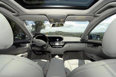 Mercedes Clase S Gran Edition interior
