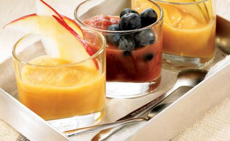 Puré de frutas naturales c fruta