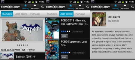 ¿Eres un friki de los cómics? cinco aplicaciones para leerlos con tu móvil