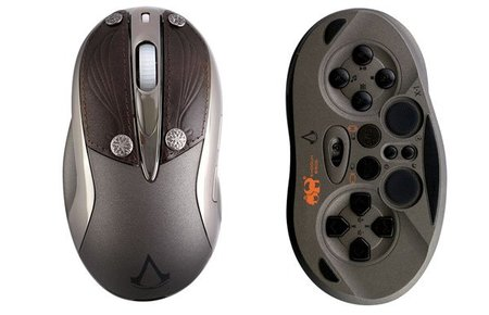Chameleon X-1 edición Assassin's Creed Revelations: mouse para gamers