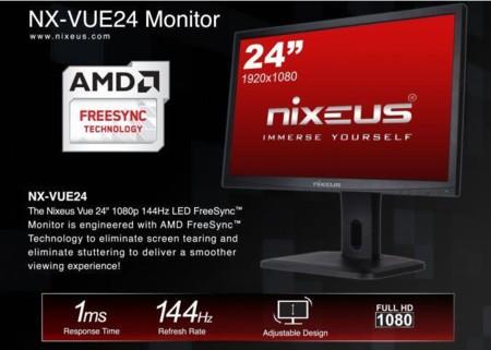 Nixeus Freesync Monitor