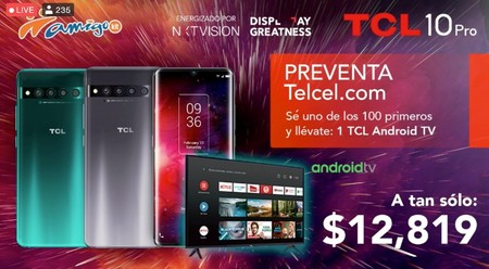 Tcl 10 Pro Lanzamiento Precio Oficial Mexico Telcel