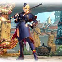 Falke es la nueva luchadora de Street Fighter V y su estilo hará las delicias de los fans de Gambito