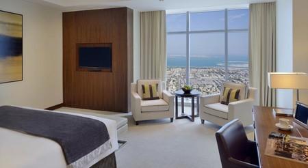 habitación de hotel más alta
