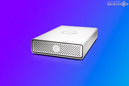 """El disco duro externo G-Drive de 14 TB con """"diseño Apple"""" está rebajado a su precio mínimo histórico en Amazon, por 279,99 euros"""