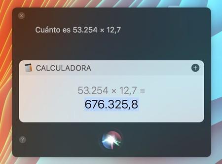 Siri Multiplicaciones