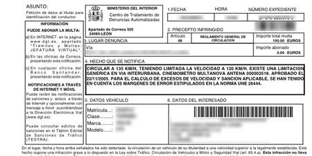 Las multas de tráfico y el insaciable afán recaudador