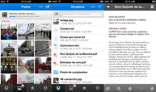 Nube en iOS - 2