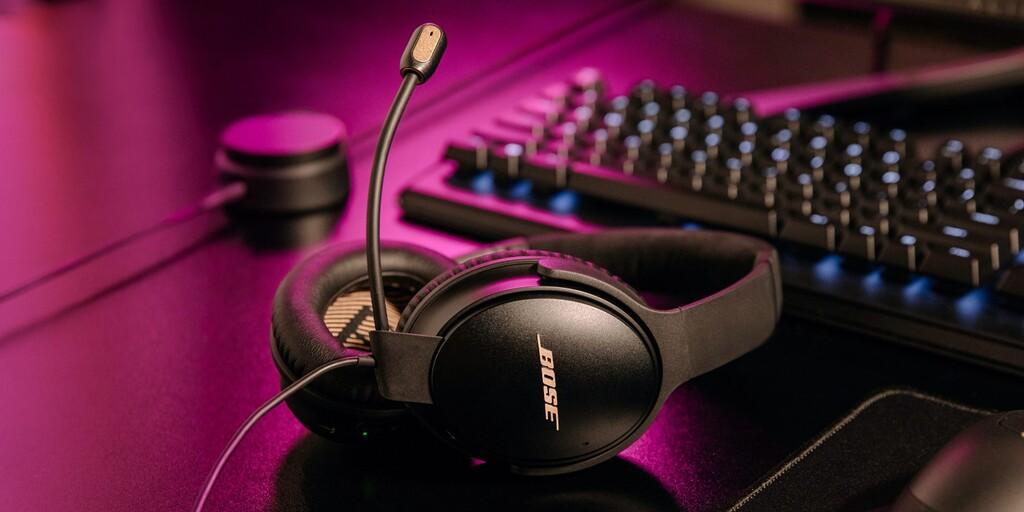 Bose actualiza su auricular Quiet Comfort 35 II: la versión Gaming Headset llega con micrófono extraíble y control externo para PC