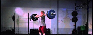 Clean and Jerk en slow motion