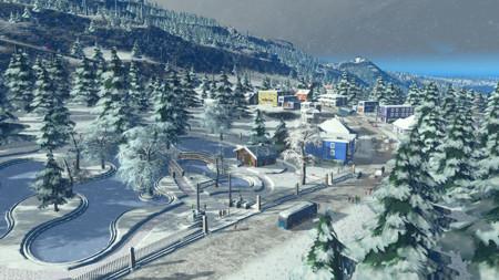 Cities: Skylines hará que temblemos de frío con su nueva expansión Snowfall