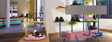 Diseño y color en Camperlab, la primera tienda pop-up de la firma en Palma de Mallorca