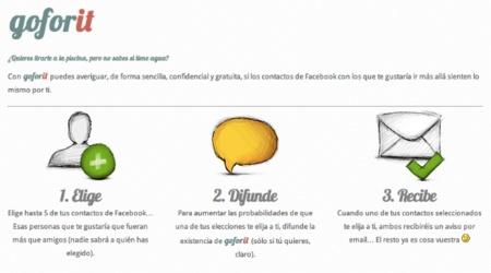 Me quiere, no me quiere: Goforit sustituye los pétalos de una flor por tus amigos en Facebook