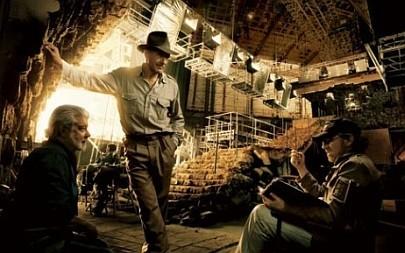 Lucas, Ford y Spielberg