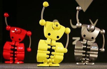 Nuvo, el robot caminante