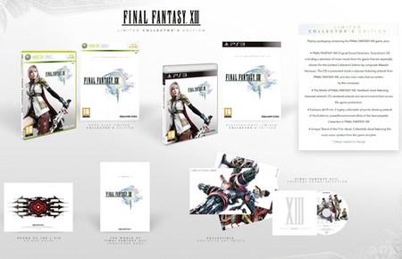 Anunciada oficialmente la edición coleccionista de 'Final Fantasy XIII' para Europa