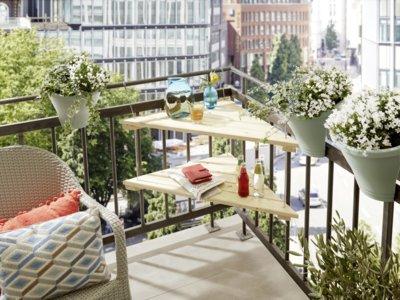Hazlo tú mismo: mesa en esquina para un balcón, paso a paso