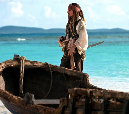 Jack Sparrow Samsung Galaxy S4 Wallpaper 1024x910